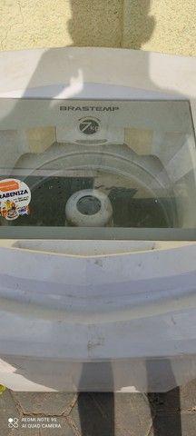 Máquina de lavar Brastemp 7 kilos em perfeito estado barata pra ir embora hoje