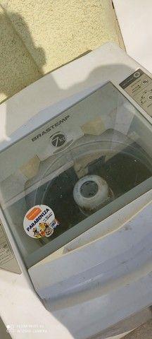 Máquina de lavar Brastemp 7 kilos em perfeito estado barata pra ir embora hoje - Foto 4