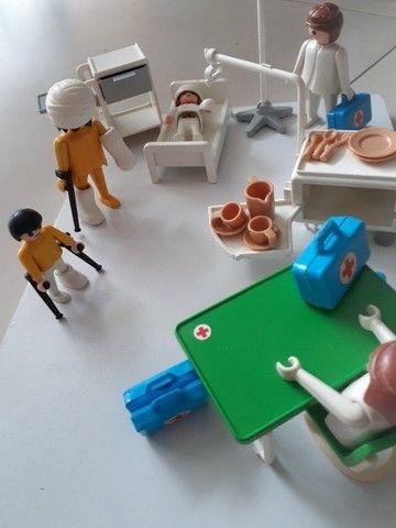 Playmobil quarto de hospital e quarto