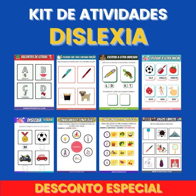 .:: Kit de Atividades ::. Kit Dislexia - Foto 4