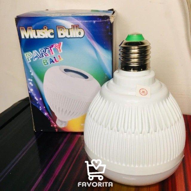 Lâmpada Caixa de Som Musical (entrega grátis) - Foto 4