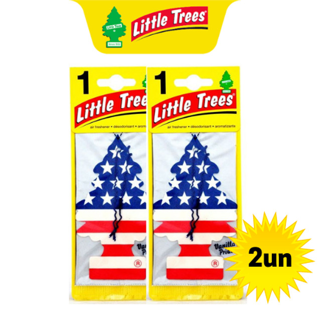 2 Little Trees - Vanilla Pride (baunilha) - Cheirinho Carro