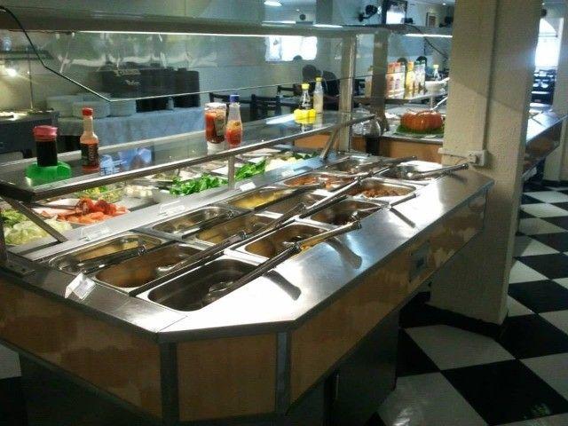 Mesa buffet conjugada luxo Jabur Refrigeração - Foto 2