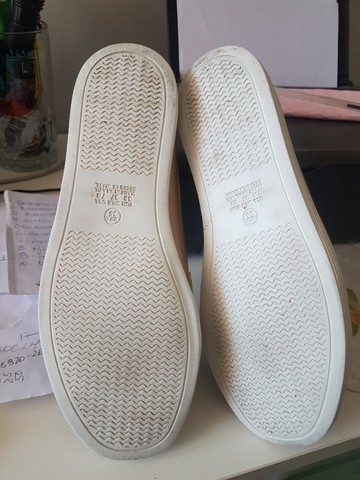 Sapato(Mocassin) Nº 36, aspecto de novo, usou uma vez e não gostou! - Foto 5