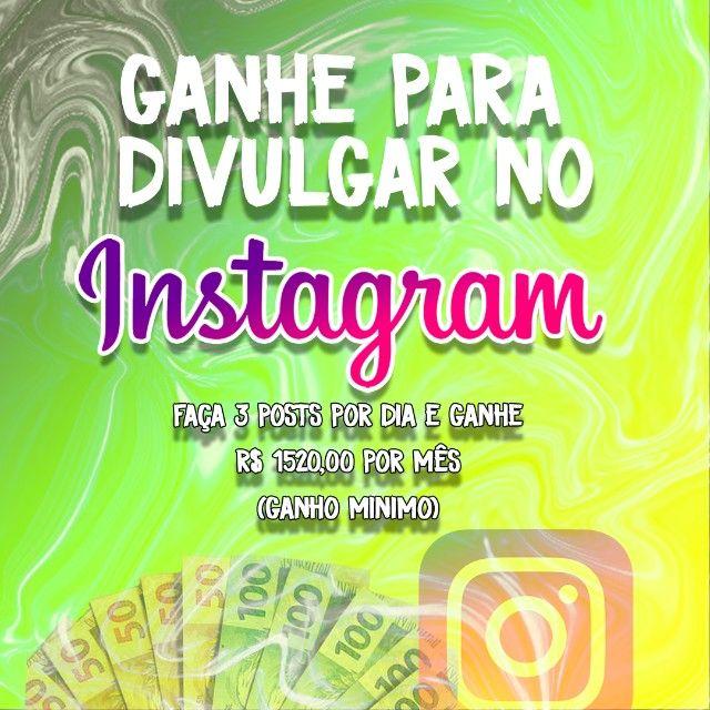 vivendo de instagram