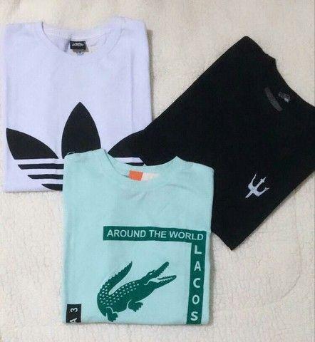 Camisetas masculino kit