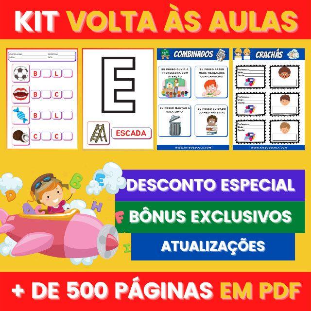 .:: Kit de Atividades ::. Kit Volta as Aulas - Foto 5