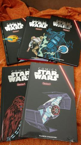 Comics Star Wars Volumes 1,2,3,5,6