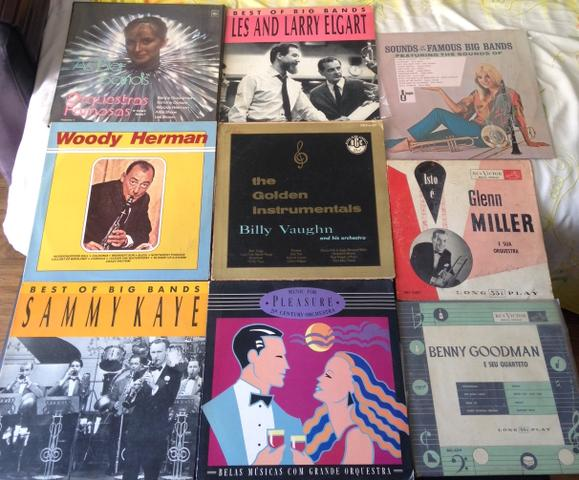Lote Lps Vinil Big Bands Orquestras