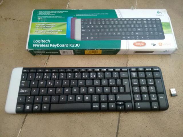 Teclado Wireless (leia)