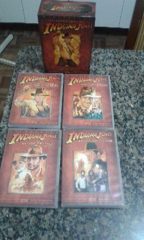 Box As Aventuras de Indiana Jones coleção completa