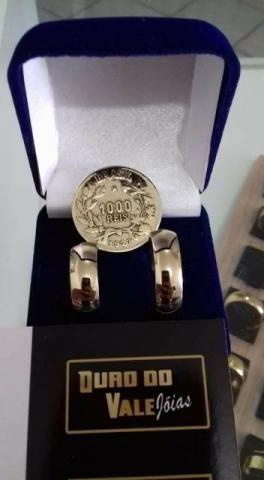38c68052a99 Aliança de moedas antigas (oficial) - Bijouterias