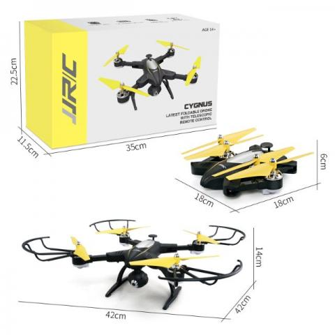 Drone Jjrc H39Wh Wifi Fpv 720 P Câmera Altitude Hold Braço Dobrável App Rc P.Entrega