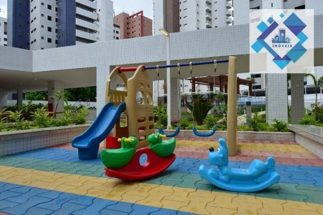 Apartamento alto padrão, 226m² com 4 suítes no Bairro do Meireles. - Foto 8