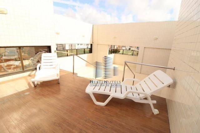 Apartamento com 2 dormitórios à venda, 65 m² por R$ 350.000 - Jatiúca - Maceió/AL - Foto 20