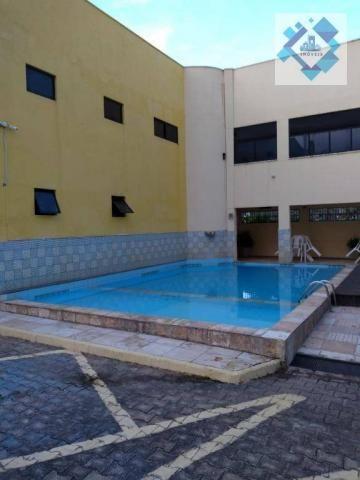 Apartamento com 1 dormitório à venda, 38 m² por R$ 220.000 - Porto das Dunas - Aquiraz/CE - Foto 4