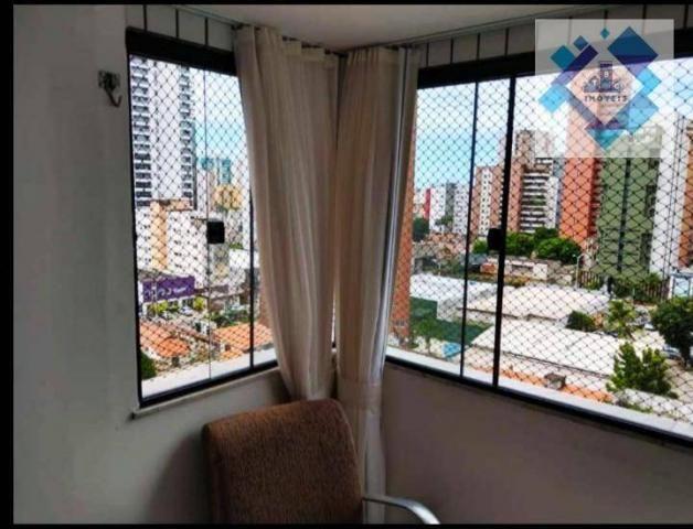 Apartamento com 3 dormitórios à venda, 65 m² por R$ 360.000 - Meireles - Fortaleza/CE - Foto 8