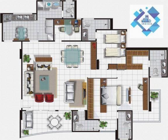 Apartamentos 150m² no Meireles. - Foto 8