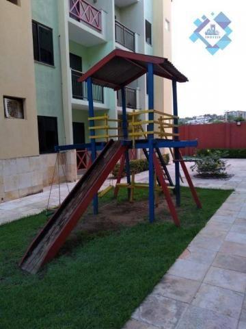 Apartamento com 1 dormitório à venda, 38 m² por R$ 220.000 - Porto das Dunas - Aquiraz/CE - Foto 8