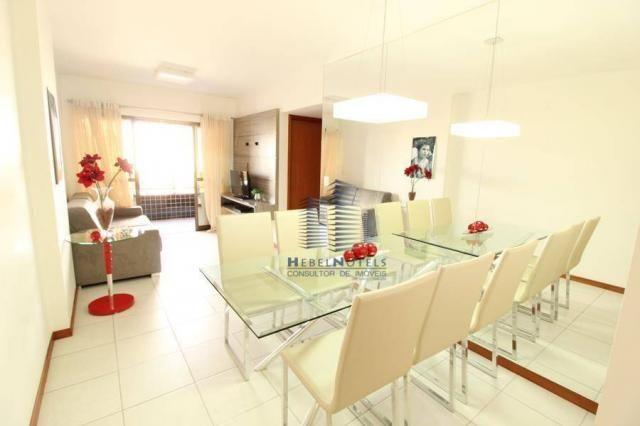 Apartamento com 2 dormitórios à venda, 65 m² por R$ 350.000 - Jatiúca - Maceió/AL - Foto 8