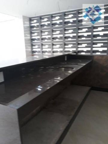 Apartamento com 4 dormitórios à venda, 235 m² por R$ 2.000.000 - Meireles - Fortaleza/CE - Foto 15