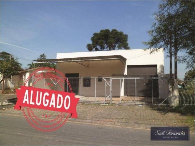 Barracão para alugar, 240 m² por R$ 3.500/mês - Bom Jesus - São José dos Pinhais/PR