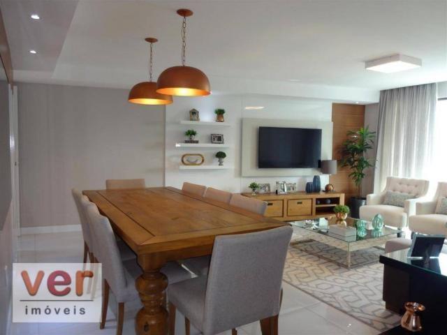 Apartamento à venda, 153 m² por R$ 800.000,00 - Engenheiro Luciano Cavalcante - Fortaleza/ - Foto 6