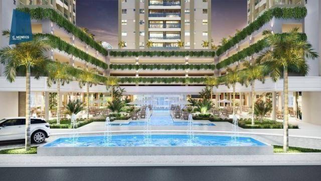 Apartamento à venda, 48 m² por R$ 443.096,80 - Fátima - Fortaleza/CE - Foto 4
