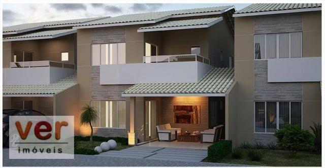 Casa à venda, 166 m² por R$ 747.000,00 - Cidade dos Funcionários - Fortaleza/CE
