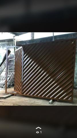 Portão galvanizado PROMOÇÃO - Foto 5