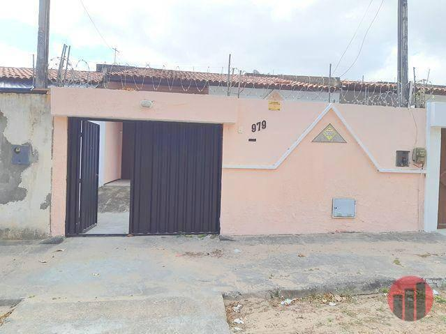 Casa para alugar, 80 m² por R$ 950,00 - Messejana - Fortaleza/CE