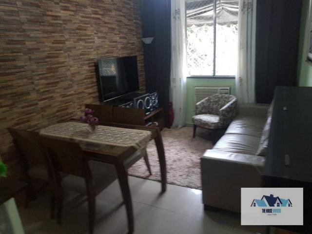 Vendo Lindo Apartamento com 2 dormitórios à venda, 65 m² por R$ 280.000 - Largo do Barrada