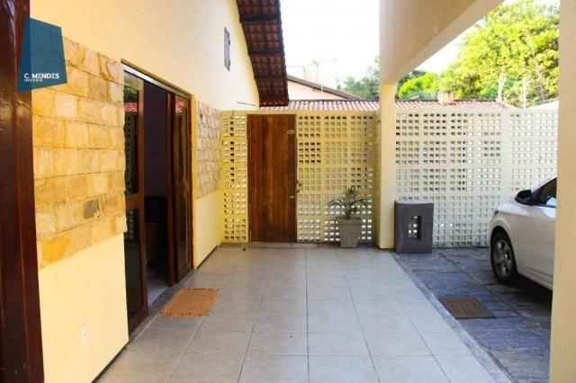 Casa com 4 dormitórios, mobiliada, para alugar, 112 m² por R$ 2.500/mês - Lagoa Redonda -  - Foto 4
