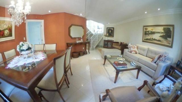 Casa em condomínio fechado com 4 dormitórios à venda, 263 m² por R$ 850.000 - Patamares -