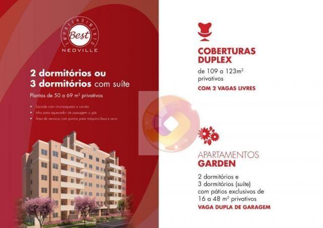 Apartamento com 2 dormitórios à venda, 51 m² por R$ 240.000,00 - Neoville - Curitiba/PR - Foto 8