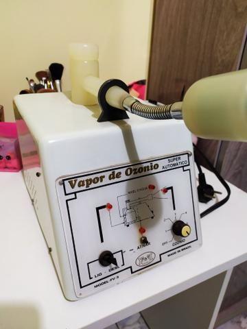 Cadeira quick massage + vapor de ozônio + kit pedras para massagem - Foto 6