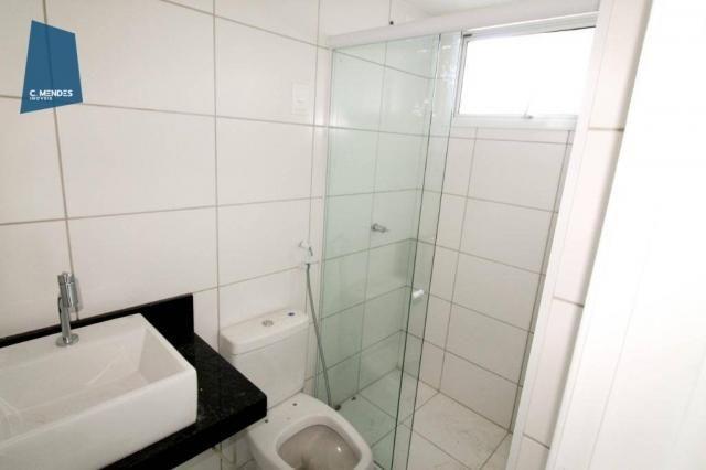 Apartamento para alugar, 105 m² por R$ 2.300,00/mês - Jardim das Oliveiras - Fortaleza/CE - Foto 17