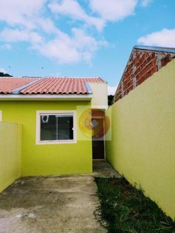 Casa com 2 dormitórios à venda, 40 m² por R$ 135.000 - Tatuquara - Curitiba/PR