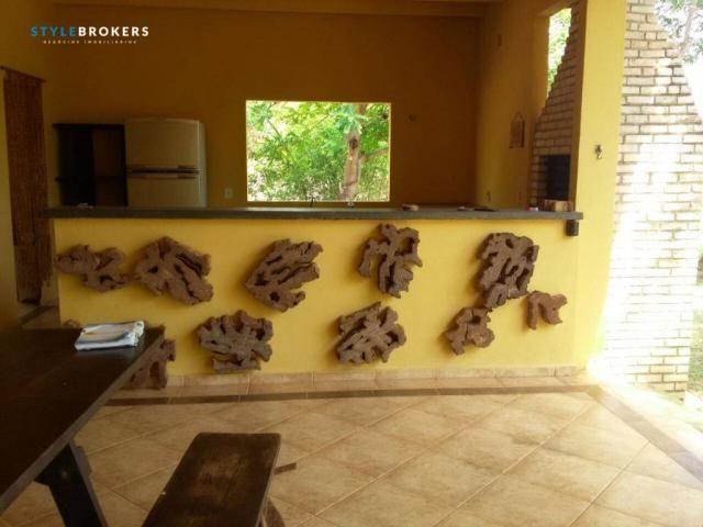 Rancho Parque dos Pequizeiros com 2 dormitórios à venda por R$ 420.000 - Zona Rural - Sant - Foto 9