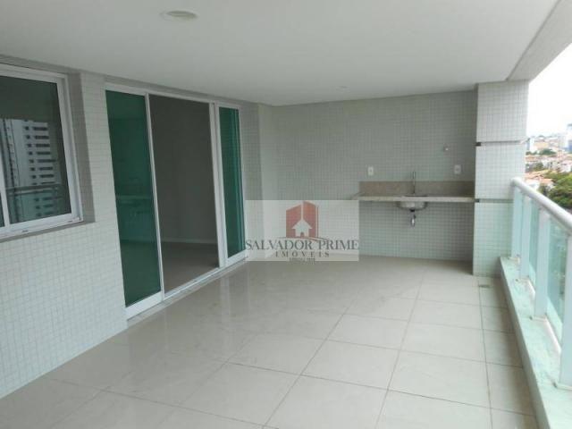 Apartamento residencial à venda, Caminho das Árvores, Salvador. - Foto 6