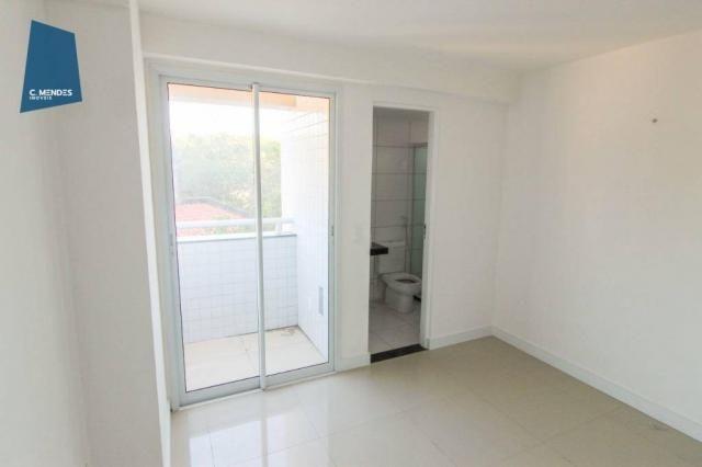 Apartamento para alugar, 105 m² por R$ 2.300,00/mês - Jardim das Oliveiras - Fortaleza/CE - Foto 18