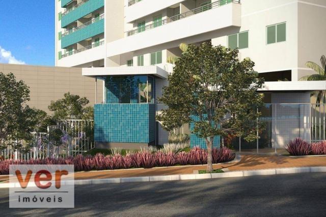 Apartamento para alugar, 61 m² por R$ 1.600,00/mês - Dunas - Fortaleza/CE