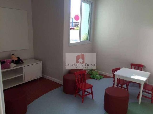 Apartamento residencial à venda, Caminho das Árvores, Salvador. - Foto 15