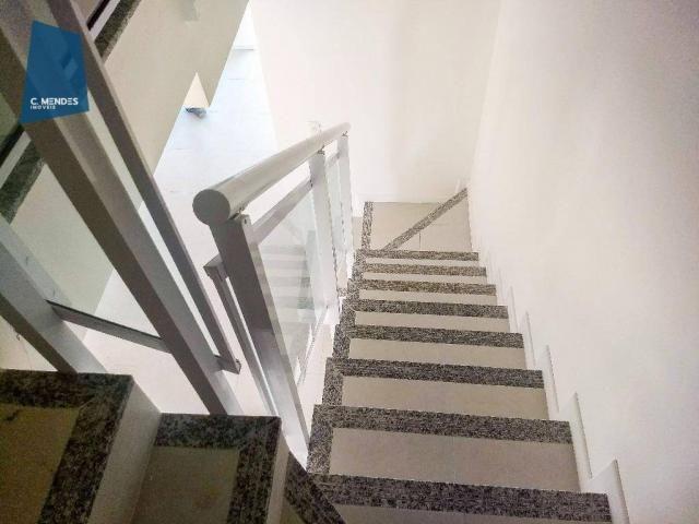 Casa Duplex 124 m² para locação, semi-mobiliada 3 suites 3 vagas, condominio, Jacundá, Eus - Foto 11