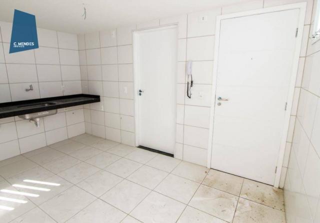 Apartamento para alugar, 105 m² por R$ 2.300,00/mês - Jardim das Oliveiras - Fortaleza/CE - Foto 10
