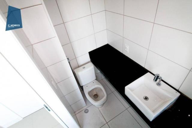 Apartamento para alugar, 105 m² por R$ 2.300,00/mês - Jardim das Oliveiras - Fortaleza/CE - Foto 15