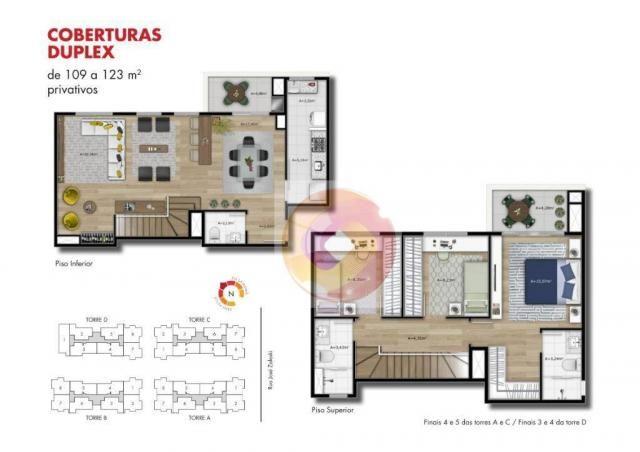 Apartamento com 2 dormitórios à venda, 51 m² por R$ 240.000,00 - Neoville - Curitiba/PR - Foto 13