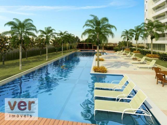 Apartamento com 3 dormitórios à venda, 80 m² por R$ 599.000,00 - Cambeba - Fortaleza/CE