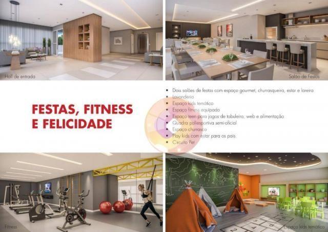 Apartamento com 2 dormitórios à venda, 51 m² por R$ 240.000,00 - Neoville - Curitiba/PR - Foto 7