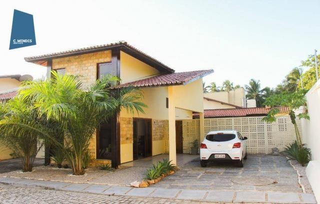 Casa com 4 dormitórios, mobiliada, para alugar, 112 m² por R$ 2.500/mês - Lagoa Redonda -  - Foto 2